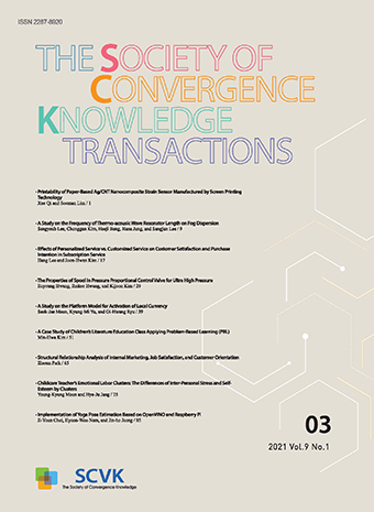 The Society of Convergence Knowledge Transactions
